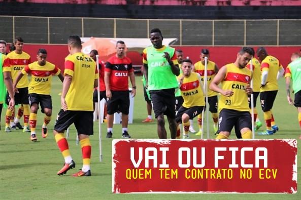 contratos jogadores Vitória